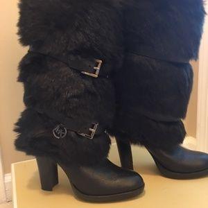 MICHAEL Michael Kors Carlie Boot Black